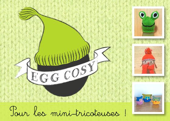 Egg Cosy, un site pour les mini-tricoteuses !