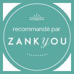 badge recommandé par zankyou